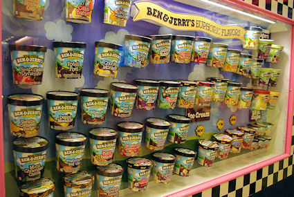 Ben & Jerry's Factory